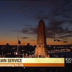 HAPPENING NOW | #Perth Dawn Service broadcast LIVE around Australia on @Channel7 @sunriseon7 #sun7 #Anzac100 http://t.co/wVr3ZS5Fy1