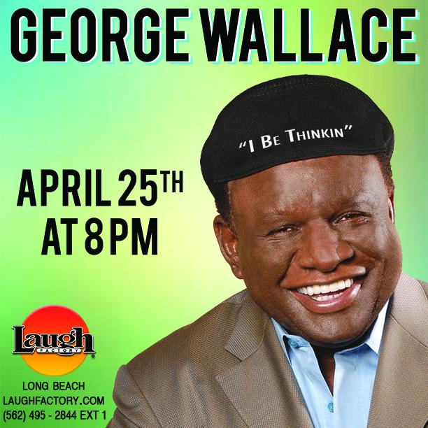 The legendary @MrGeorgeWallace is in the house tomorrow night 8pm! Get tickets: http://t.co/PLShCaVGQj http://t.co/oKHbYEdEWl