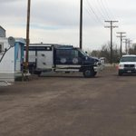 CBI is at a trailer park in Trinidad investigating an officer involved shooting that left one man dead. @KRDONC13 http://t.co/egS13VqZ1p