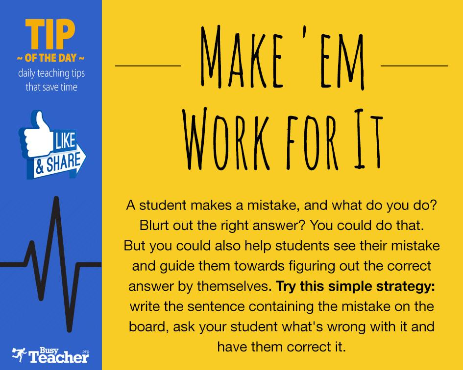 Make 'em Work for It! http://t.co/fvxqzGB3tx