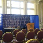 Here at the William Pitt Union for introductory press conference of new #Pitt AD Scott Barnes. http://t.co/YmvIdsmVtI