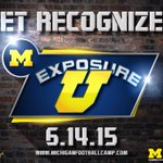 50 Colleges already working at #ExposureU come on coaches lets make a clean sweep of the USA! ExposureU@Umich.edu http://t.co/M841DlfTGp