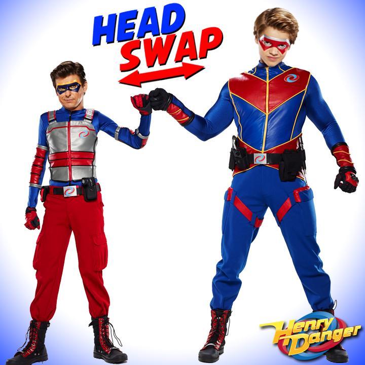 Head Swap Meet Kid Man And Captain Danger Scoopnest Com