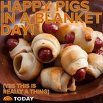 Happy Pigs in a Blanket Day!