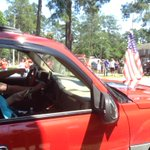 "This truck was one of several playing Lee Greenwoods ""God Bless the USA"" at full blast #ValdostaFlags http://t.co/YO10dz4Z2J"