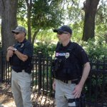 Members of Valdosta Police watching what has been so far a trouble-free event #ValdostaFlags http://t.co/8Vcg1CbIKN