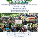 The 12th Annual Montford Music & Arts Festival in #Asheville! May 16, 2015. #avlart #avlmusic #avleat http://t.co/TffqadeqSR