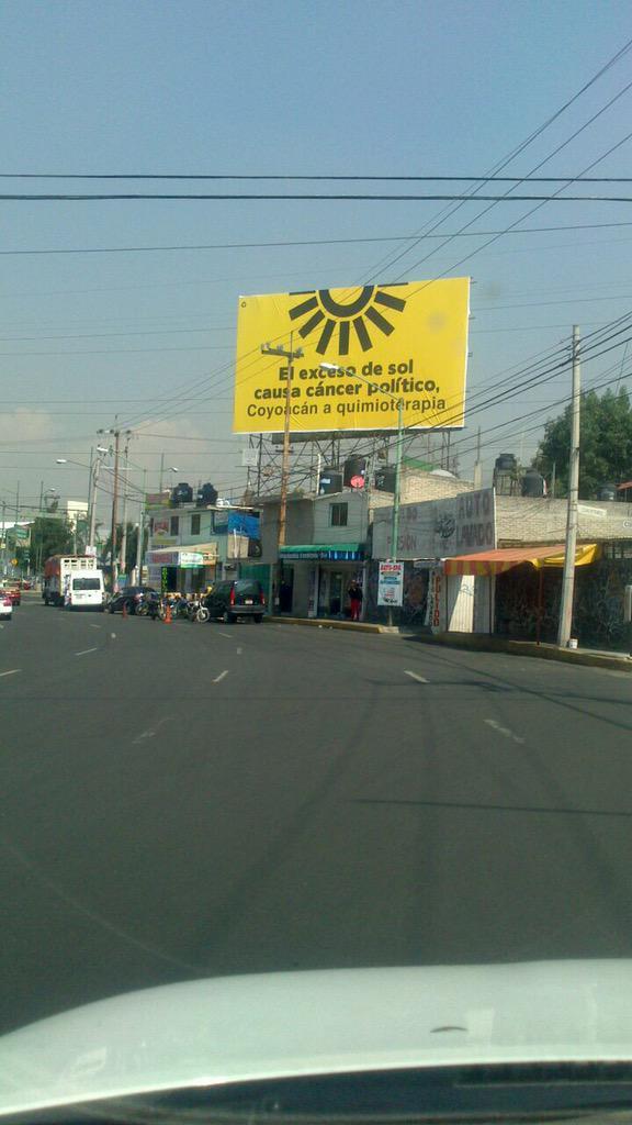 Me queda claro que #Coyoacán está harto del #PRD ... http://t.co/XgcXZzdNyA