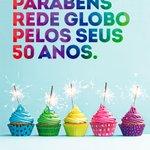 Parabéns @RedeGlobo pelos seus 50 anos! Uma homenagem de todos nós! http://t.co/438APQa6GL