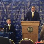 Scott Barnes has just taken the podium introducing himself as the Athletic Director of the University of Pittsburgh. http://t.co/fd7p2MMsxf