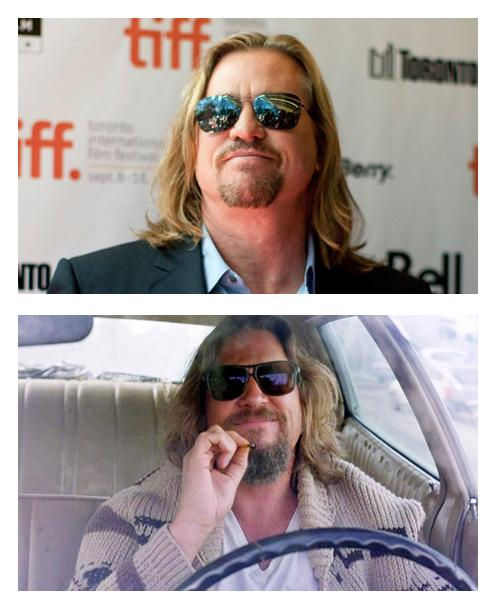 Hé hé hé ;) RT @Joelwillans: It's official. Val Kilmer has become The Dude. http://t.co/uxVbEQOIR2