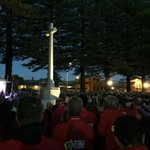Dawn service to remember all those lives lost at Gallipoli RIP @tourdecure_aus http://t.co/8ktNhz1ALb