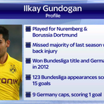 Ilkay Gundogan will reportedly join Manchester United this summer. Heres a little more about the midfielder. #SSNHQ http://t.co/o7frKuXiOp