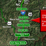 Watch for this motorcycle crash clearing on Future 26 near NC-213 @WLOS_13 http://t.co/C3J8QpaaLn