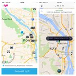 Available @Lyft cars vs @Uber_PDX cars in Portland very comparable http://t.co/npd1dskuLl