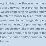 Also from @glaad, how to address #BruceJenner post-transgender announcement unless/until specific request: http://t.co/EHAm5iSwuZ