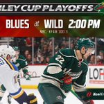 Sundays #mnwild Game 6 at @XcelEnergyCtr will be at 2p on @NBC & @KFAN1003 with pre & post-game shows on @fsnorth. http://t.co/kljxAuQtEY
