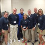 With the Indiana Basketball Coaches Association officers at a coaches' clinic. http://t.co/UFEI9iuZTs