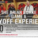 Reserve a spot for the Brian Burke Game 6 Playoff Experience by emailing suiteservices@calgaryflames! http://t.co/XkA7HIAmAV