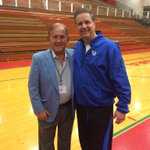 With Virgil Sweet, an Indiana high school legend. http://t.co/pnYenppVwy