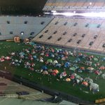 Perfect night for Mikes Kids Club campout @LSUTigerStadium! Info at http://t.co/1Qi4GelgXx. http://t.co/ZEeAPuyQ9G