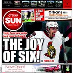 Love this cover! And playoff hockey.... Will they force a game 7? http://t.co/31fst3O1ok