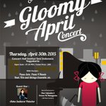 "#Jogja @unyuni: 30/4/15 19.30 Clavier Piano Student ""Gloomy April Concert"" di Concert Hall ISI yk 