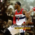 The Wizards beat the Raptors 106-99 in Washington behind a huge night from John Wall! http://t.co/YY01buS5dy