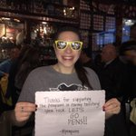 Thanks for dropping by @FoleysNY, @penguins!!! We are proudly repping, as always! #NoFairweatherness #LetsGoPens http://t.co/BeoK8UuROi