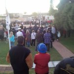 @tweetperth over 500 people at Lancelin #Anzac dawn service and march this morning. http://t.co/aHlNYKtCZZ