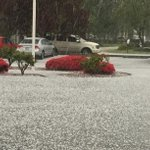 WEATHER ALERT: Hail in Sumas! KayAnn sent this and also reports thunder and lightning very close to the ground. http://t.co/6L4zuvpfRK