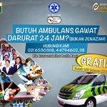 Bagi Warga DKI Jakarta bila membutuhkan layanan Ambulans Gawat Darurat 24 Jam hubungi: 021-65303118 https://t.co/lz5viGsyHk
