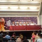 Saludos desde el Patio de los Cuentos, escenario de la inauguración de #FeNaL2015. http://t.co/2gwXium3bz