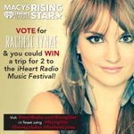 WIN 2 tix 2 @iHeartRadio Music Fest in @Vegas. Vote @RacheleLynae #RisingStar #Sweepstakes http://t.co/vekmVF9vWh /RT http://t.co/Vycq633LlD