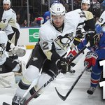 END 2: #NYRvsPIT Game 5 all tied up 1-1 after 40 minutes of play. Goals from Stepan and Spaling. LET'S GO PENS! http://t.co/oPgTlV4eKy