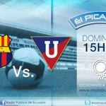 15H30 | Domingo ¡No se pierda! El partido: @BarcelonaSCweb vs. @LDU_Oficial Por: http://t.co/cEmlbraRWq http://t.co/C1o9xdzdVd