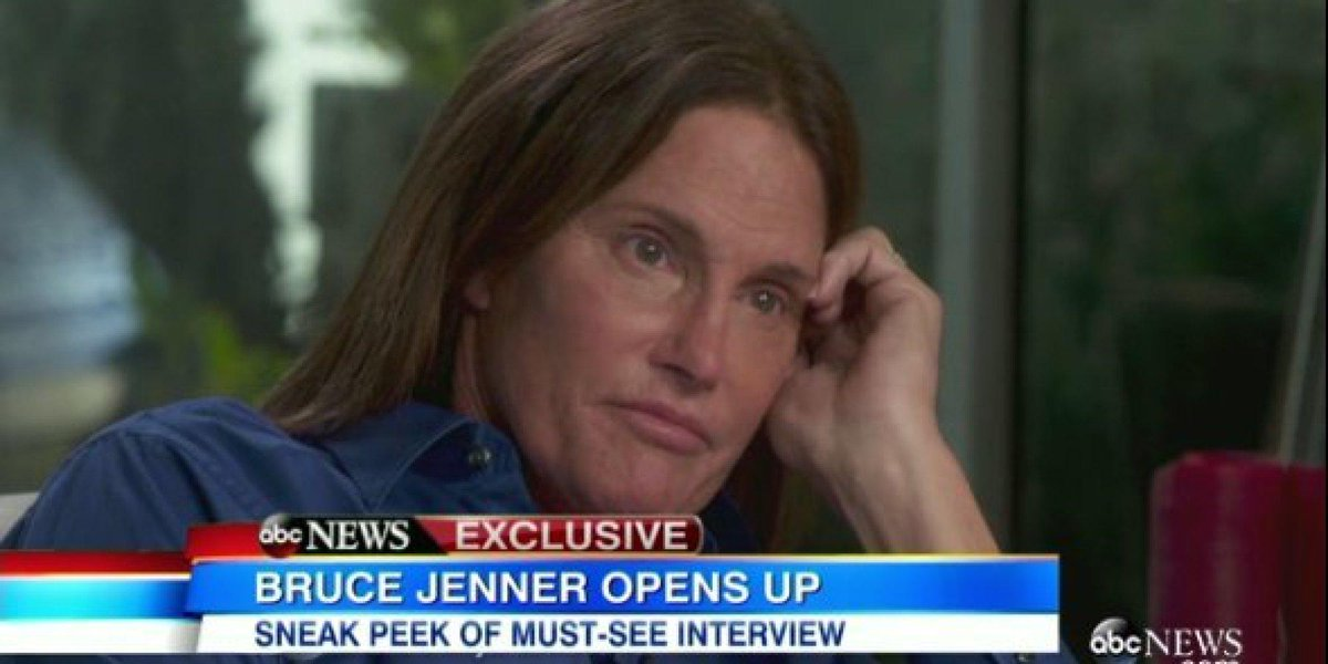 Bruce Jenner comes out as transgender: 'I am a woman' http://t.co/zGbSt96mjM