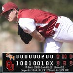 Final: No. 23 Oklahoma 3, Sam Houston State 2. Evans leaves em loaded in the ninth. #Dubya http://t.co/ZecMoEzrPF