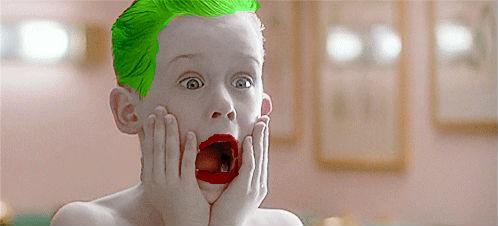 """via @SlyDante777 """"This just in, we have a second photo of Mr. Leto as The Joker as well..."""" http://t.co/VlhHI4VN5f"""