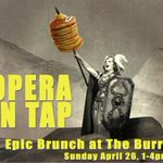 Puccini & pancakes, Wagner & waffles - opera and brunch tomorrow @burrenmusic @OOTBoston http://t.co/Nj7Aj1izqy http://t.co/Sp9is3WubM