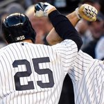 First game of the #SubwaySeries belongs to the good guys! #PinstripePride http://t.co/vqddUoJrGG