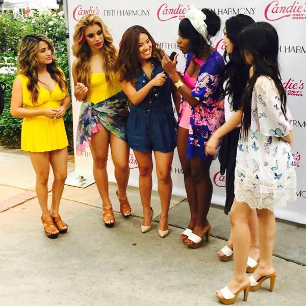 So much fun w @FifthHarmony @PopStopTV Subscribe to http://t.co/dv98egW8cY #FifthHarmony #5H @5HonTour #Harmonizers http://t.co/Bc8tpGnGXN