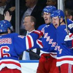 Thats all, folks! Carl Hagelins OT winner eliminates @Penguins as @NYRangers advance to next round. http://t.co/G6mPo7rdE8