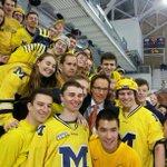 Hagelin!! I win!!! Just 5 winners tonight. #MichiganMan http://t.co/RxhxLAOh8l