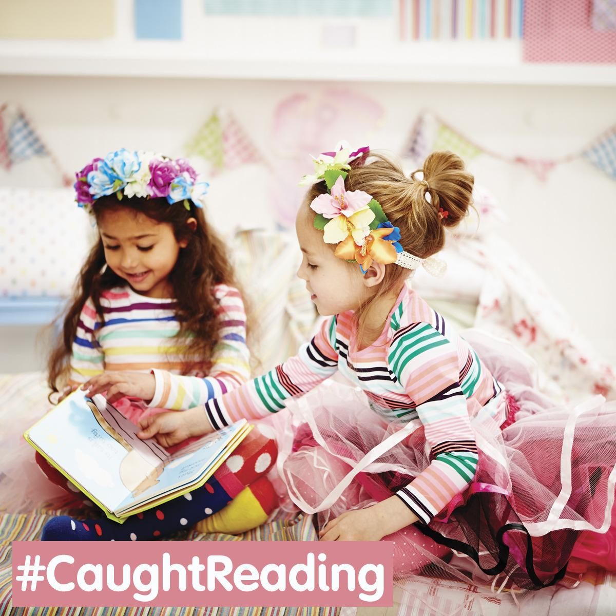 Tweet us a photo of your little one reading with #CaughtReading to be in with a chance of winning a bundle of books! http://t.co/DZ61IumdTT