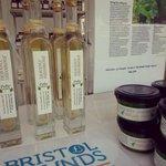 Eat Drink Bristol - literally. Set up with hand-picked produce from Bristol hedgerows @eatdrinkbristol @BristolPound http://t.co/Ko5qzDnTTm