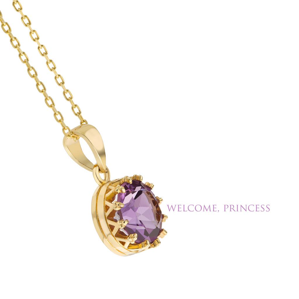 We are giving away this limited edition Royale necklace with a royal purple amethyst stone. RT to enter.  #RoyalBaby http://t.co/k2Ih77PtV1