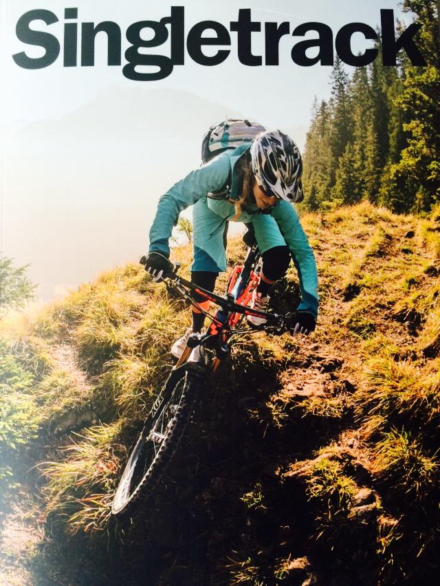 In other news, @singletrackmag have put a woman on the cover #gosingletrack http://t.co/hYvHSPuXSk