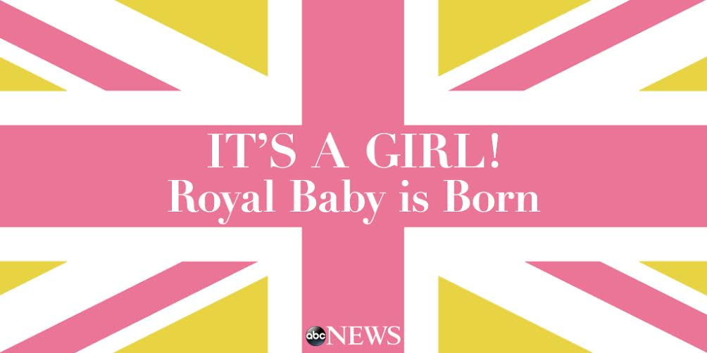Prince William and Duchess Kate welcome a baby girl: http://t.co/S5A55CL9Tr http://t.co/HFeRFCAcWs