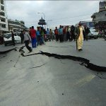 A strong 7.5-magnitude earthquake has hit near Nepal's capital of Kathmandu. Picture: votefor2leaf / Twitter http://t.co/ETywEesOhK